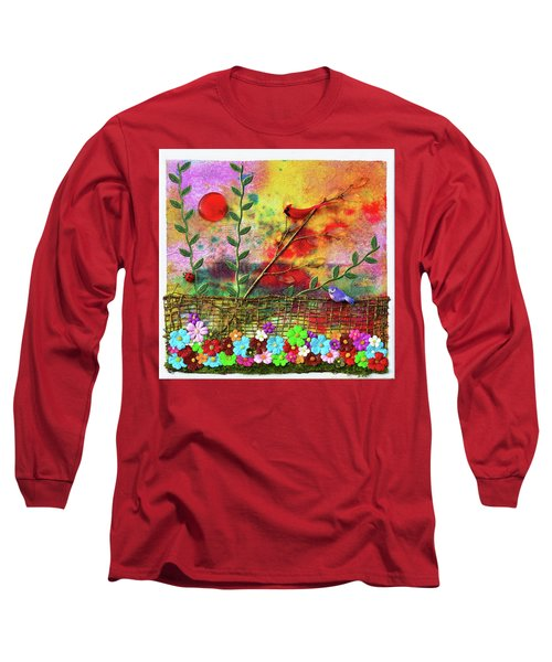 Country Sunrise Long Sleeve T-Shirt