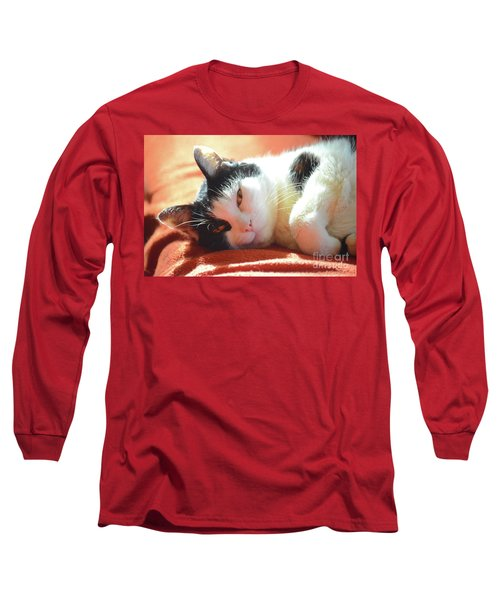Cover Girl Long Sleeve T-Shirt by Jesse Ciazza