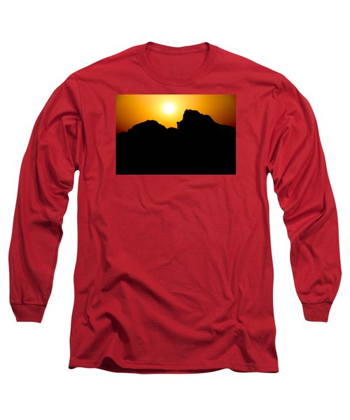 Long Sleeve T-Shirt featuring the photograph Cradle Your Departing by Jez C Self