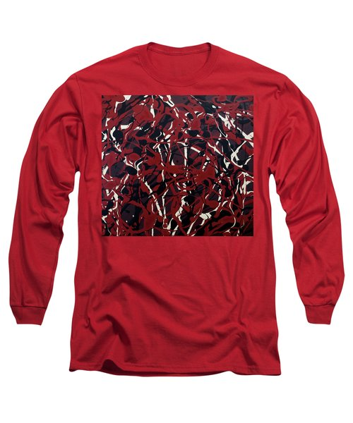 Crazy About Red Long Sleeve T-Shirt