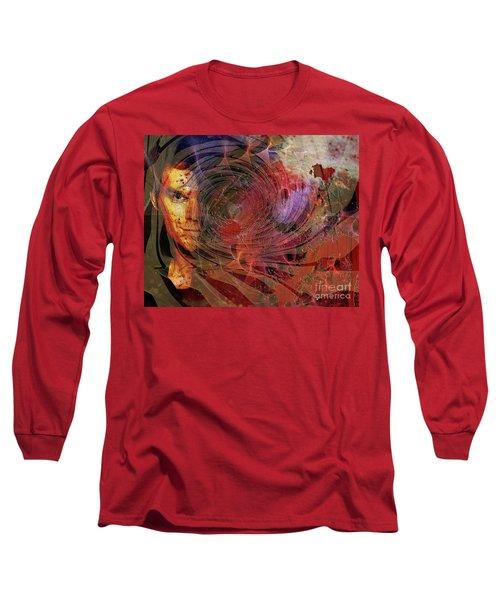 Crimson Requiem Long Sleeve T-Shirt by John Robert Beck
