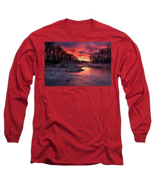 Sage Island Sunrise Long Sleeve T-Shirt