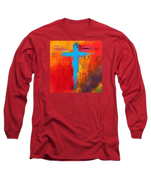 Cross 3 Long Sleeve T-Shirt by Kume Bryant