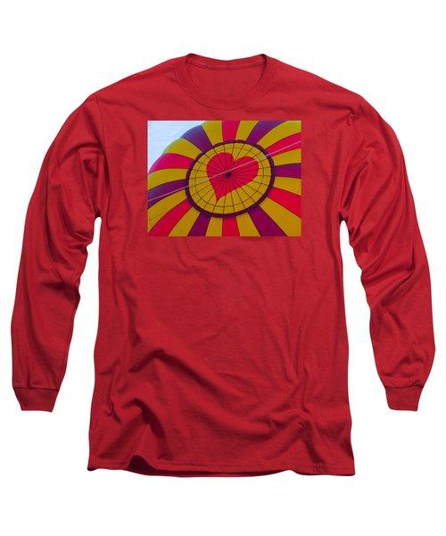 Long Sleeve T-Shirt featuring the photograph Cross My Heart by Brenda Pressnall