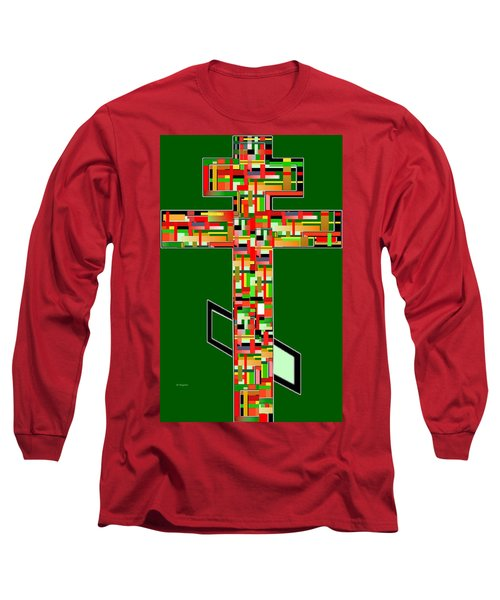 Cross No.2 Long Sleeve T-Shirt