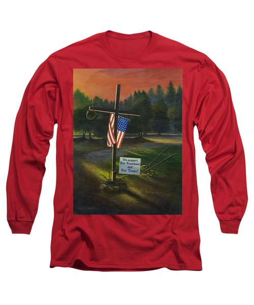 Cross Of Remembrance Long Sleeve T-Shirt