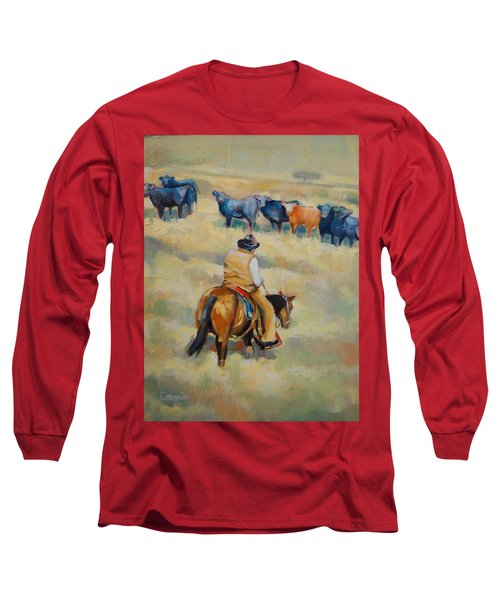 Crossing Long Sleeve T-Shirt by Jean Cormier