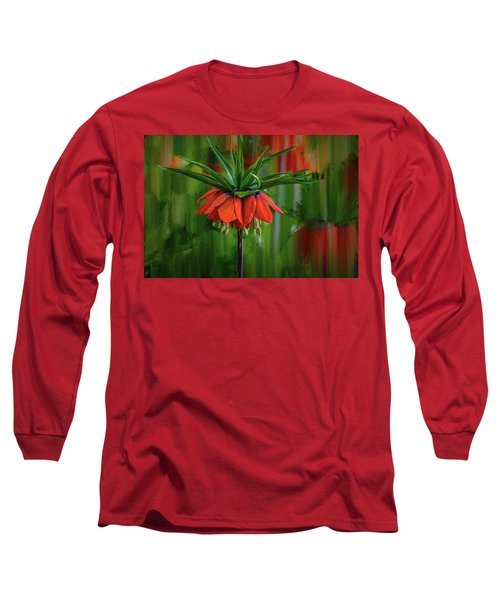 Crown-imperial Abstract #h5 Long Sleeve T-Shirt