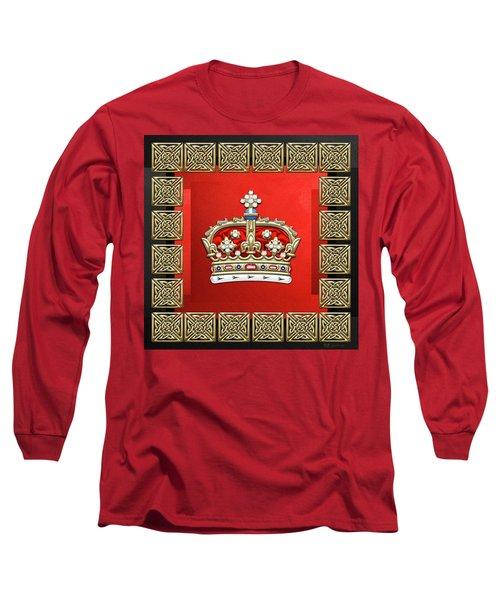 Crown Of Scotland  Long Sleeve T-Shirt