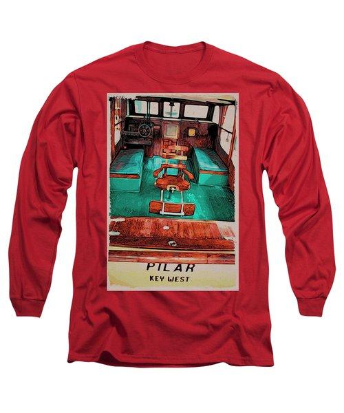 Cuba Hemingway Pilar Long Sleeve T-Shirt
