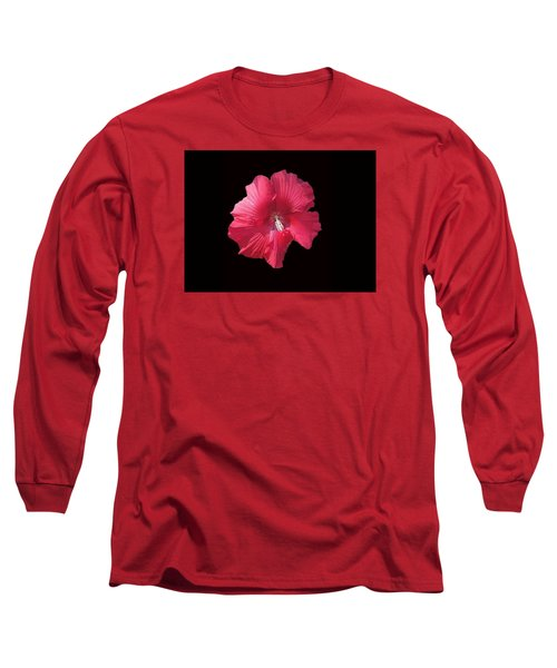 Dads Hibiscus Long Sleeve T-Shirt