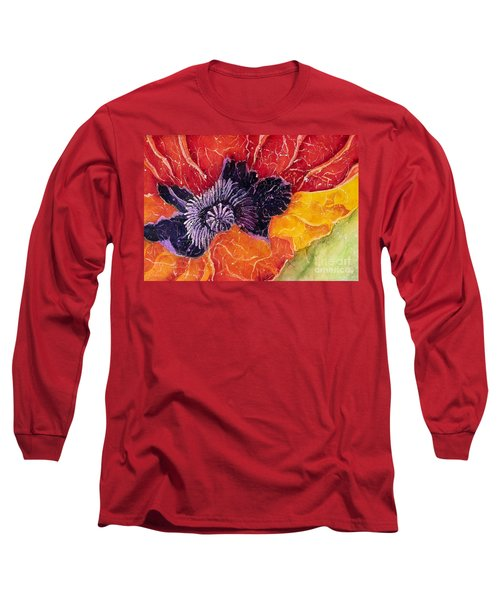 Dad's Poppy Long Sleeve T-Shirt