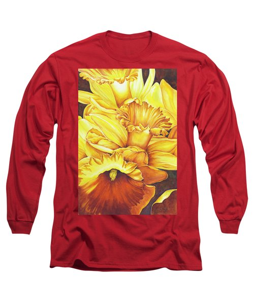 Daffodil Drama Long Sleeve T-Shirt