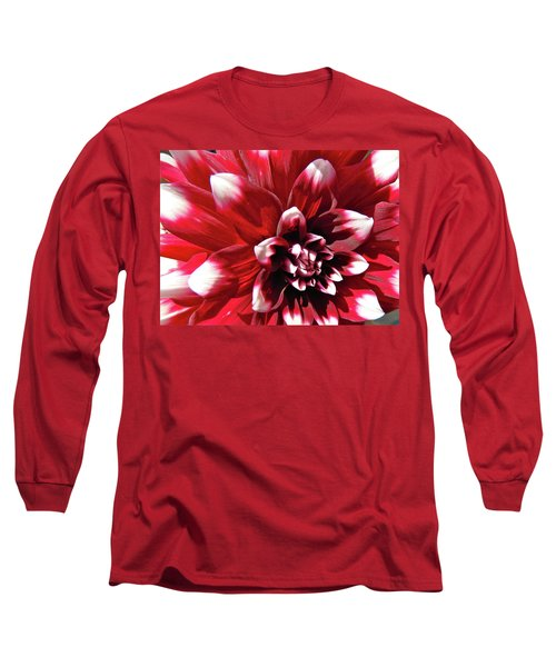 Dahlia Defined Long Sleeve T-Shirt by Randy Rosenberger