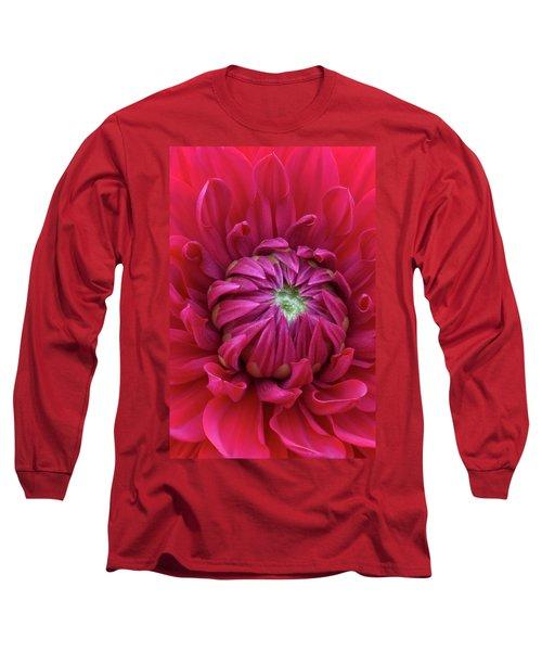 Dahlia Heart Long Sleeve T-Shirt