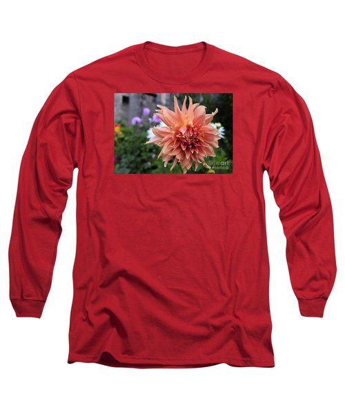 Dahlia - Inverness Long Sleeve T-Shirt by Amy Fearn