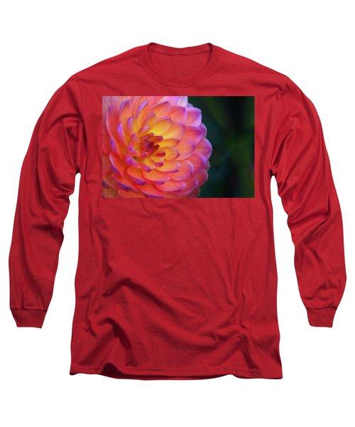 Dahlia Portrait Long Sleeve T-Shirt