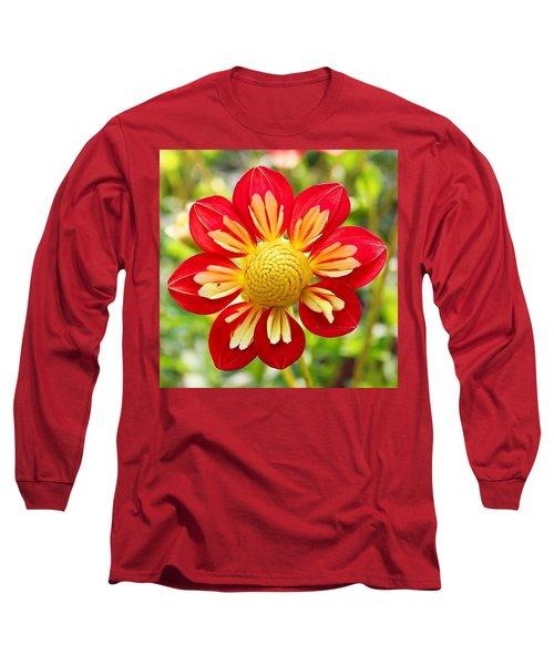 Dainty Dahlia Long Sleeve T-Shirt