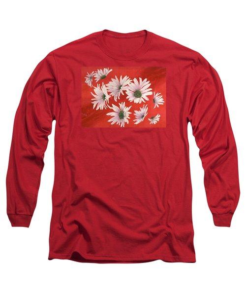 Daisy Chain Long Sleeve T-Shirt by Ruth Kamenev