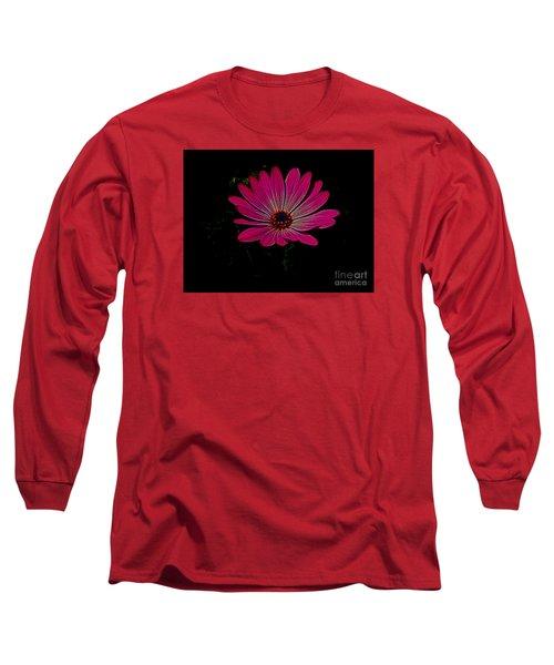 Daisy Flower Long Sleeve T-Shirt by Suzanne Handel