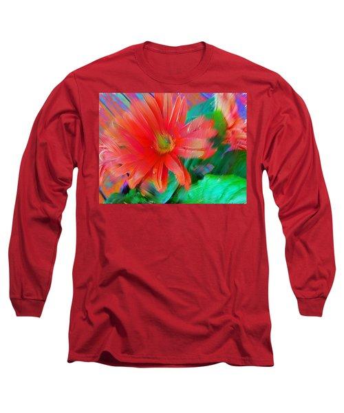 Daisy Fun Long Sleeve T-Shirt by Karen Nicholson