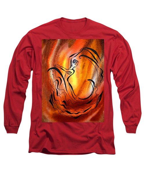 Dancing Fire I Long Sleeve T-Shirt