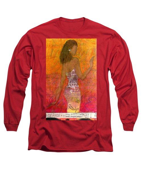 Dancing Lady Long Sleeve T-Shirt