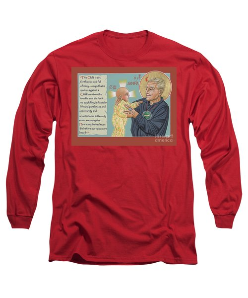 Holy Prophet Daniel Berrigan 291  Long Sleeve T-Shirt