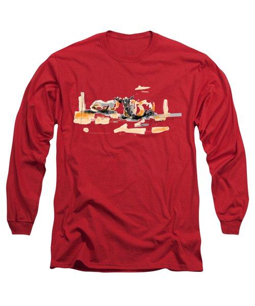 Danish Sheep Long Sleeve T-Shirt