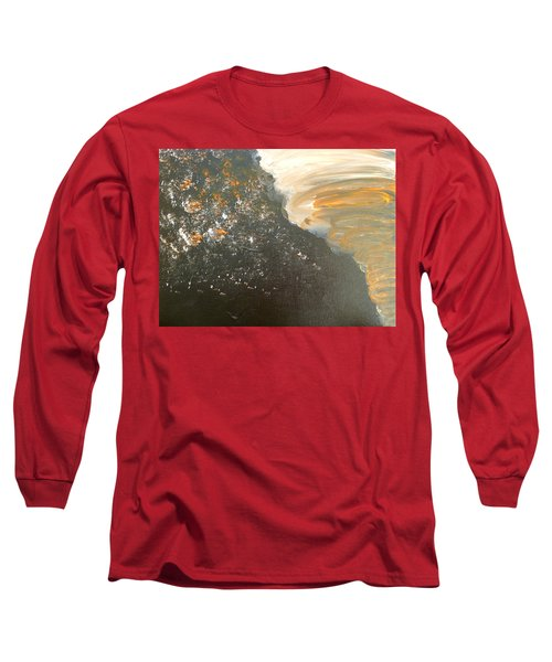 Dark Storm Long Sleeve T-Shirt by Barbara Yearty