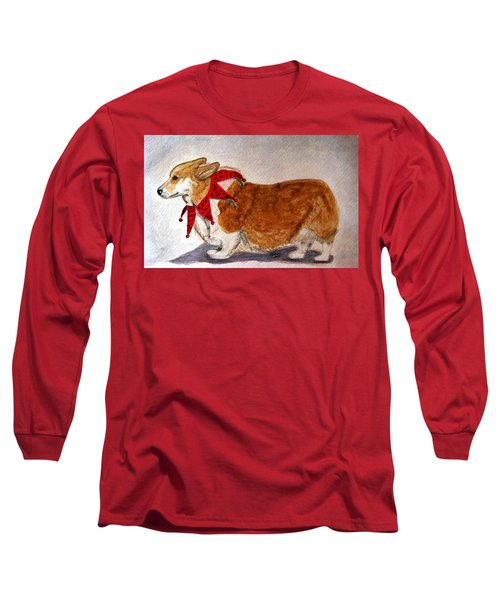 Dashing Through The Snow Surely You Jest Long Sleeve T-Shirt