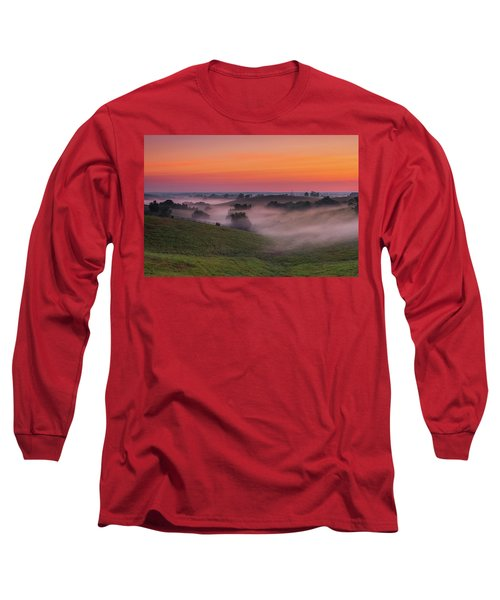 Dawn In Kentucky Long Sleeve T-Shirt