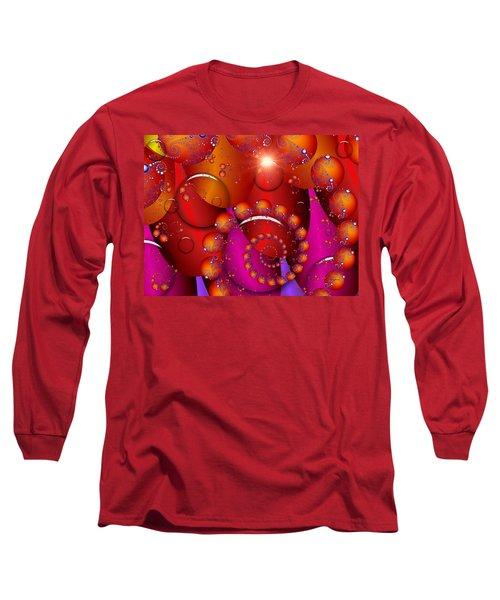 Long Sleeve T-Shirt featuring the digital art Dawn by Robert Orinski