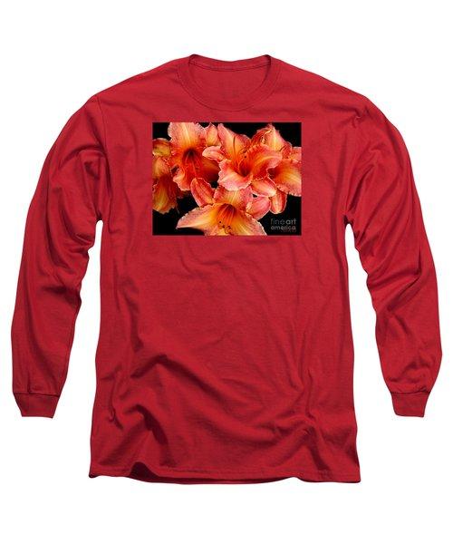 Daylilies 1 Long Sleeve T-Shirt by Rose Santuci-Sofranko