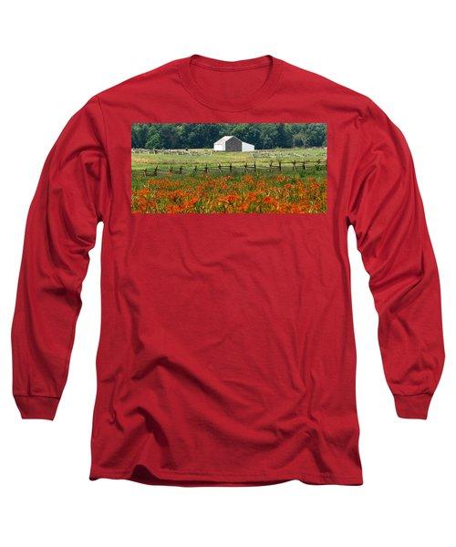 Daylily Drama Long Sleeve T-Shirt