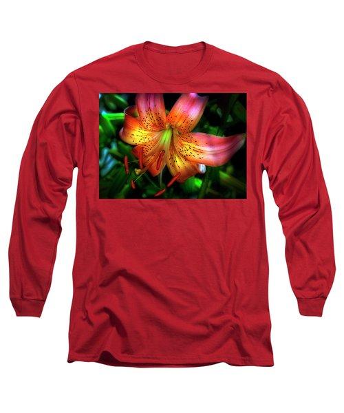 Dazzling Daylily  Long Sleeve T-Shirt