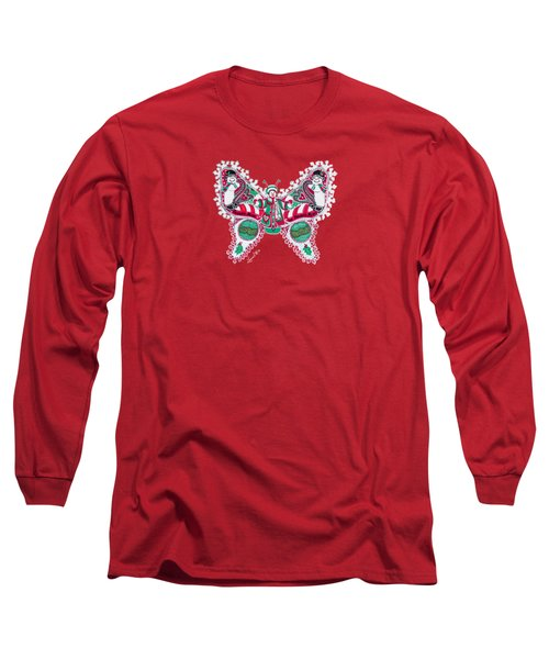 December Butterfly Long Sleeve T-Shirt