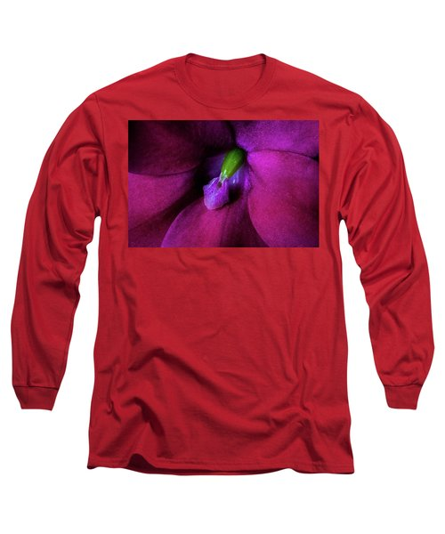 Long Sleeve T-Shirt featuring the photograph Deep Inside by Jay Stockhaus