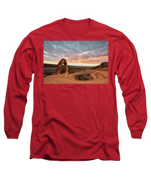 Delicate At Sunset Long Sleeve T-Shirt