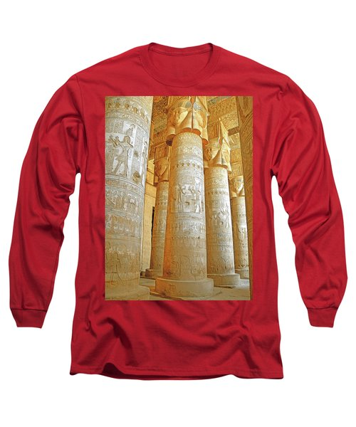 Dendera Temple Long Sleeve T-Shirt