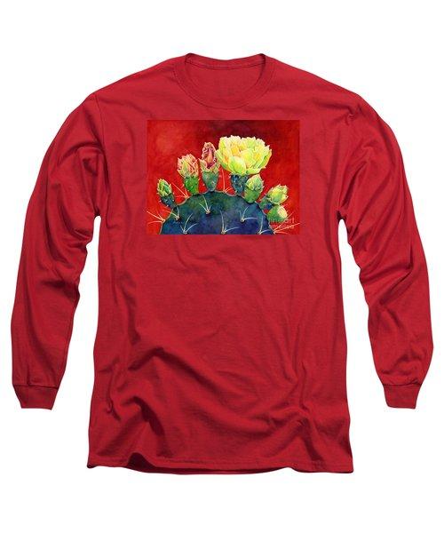 Desert Bloom 3 Long Sleeve T-Shirt