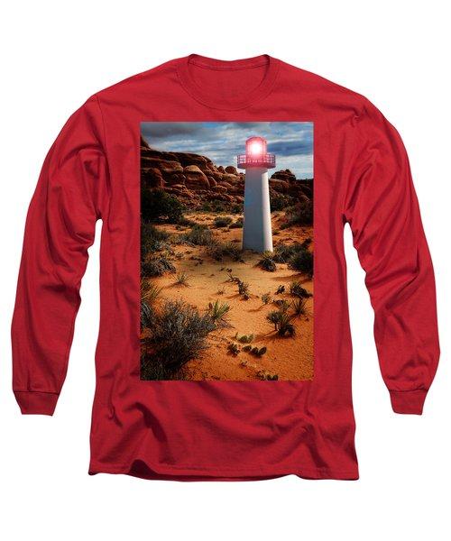 Desert Lighthouse Long Sleeve T-Shirt