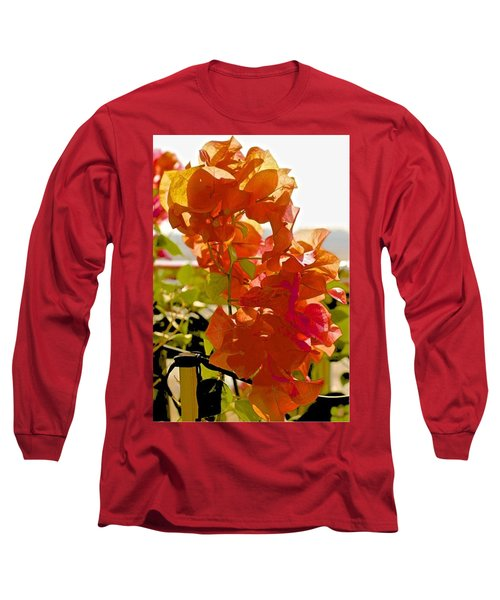 Desert Orange Long Sleeve T-Shirt