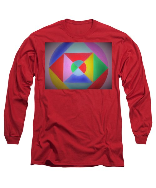 Design Number One Long Sleeve T-Shirt