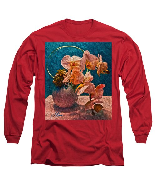 Designer Floral Arrangement Long Sleeve T-Shirt