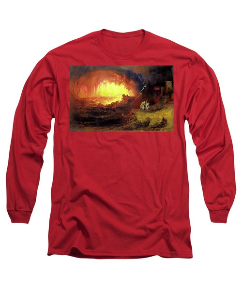 Destruction Of Sodom And Gomorah Long Sleeve T-Shirt