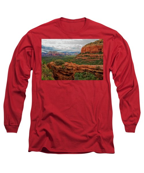 Long Sleeve T-Shirt featuring the photograph Devil's Bridge by Tom Kelly