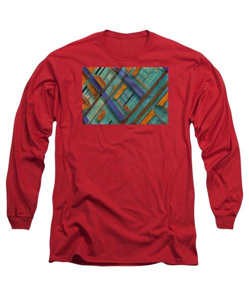 Diagonal Long Sleeve T-Shirt by Don Gradner