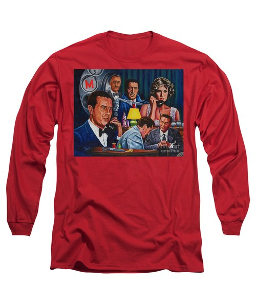 Dial M For Murder Long Sleeve T-Shirt by Michael Frank