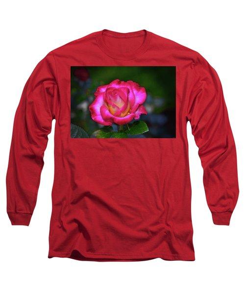 Dick Clark Rose 002 Long Sleeve T-Shirt by George Bostian